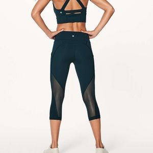 Lululemon sweat your heart out crops
